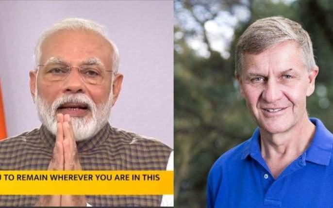 Coronavirus: Well Ahead india ... Former Norwegian Minister of Environment praises India's planning Erik Solheim on twitter   Coronavirus: Well Ahead India... नॉर्वेच्या माजी पर्यावरणमंत्र्यांकडून भारताच्या नियोजनाचं कौतुक