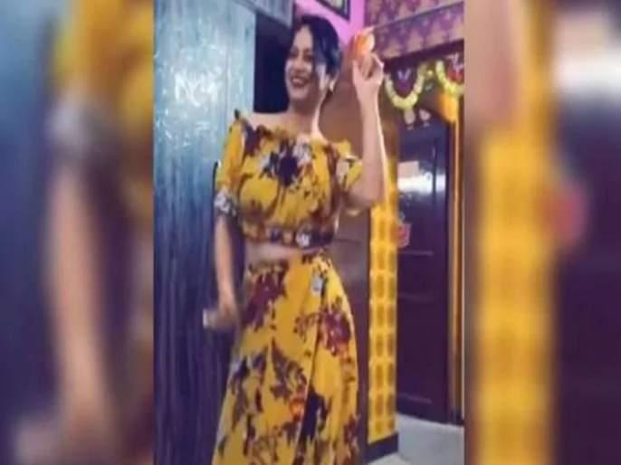 yellow Saree Lady Officer Reena Dwivedi Dance Video Viral | Video: तुझा पिवळा-पिवळा ड्रेस...सोशल मिडीयावर पुन्हा झाली 'ती' व्हायरल