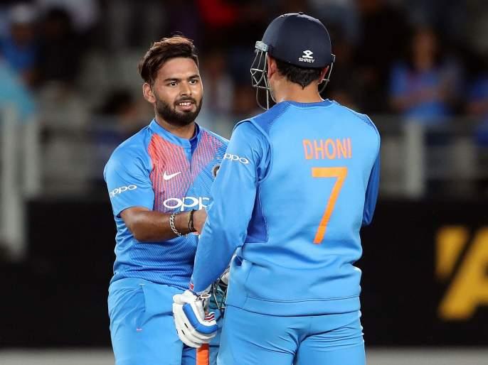ICC World Cup 2019: Rishabh Pant no entry in the Indian dressing room | ICC World Cup 2019 : रिषभ पंतला भारतीय ड्रेसिंग रुममध्ये नो एंट्री, पण का...