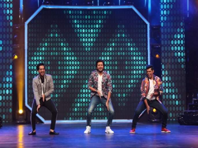 Mauli movie team attend Super Dancer show | 'सुपर डान्सर'च्या मंचावर 'माऊली'ची सुपर एण्ट्री