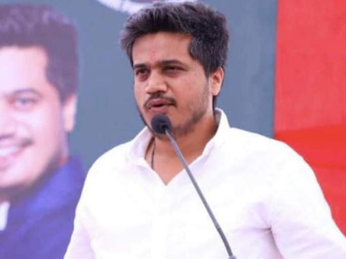 Rohit Pawar's push to BJP | रोहित पवार यांचा भाजपला धक्का
