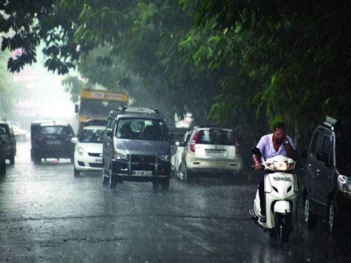 Most rain in Matheran, the beggars dry | माथेरानमध्ये सर्वाधिक पाऊस, बळीराजा सुखावला