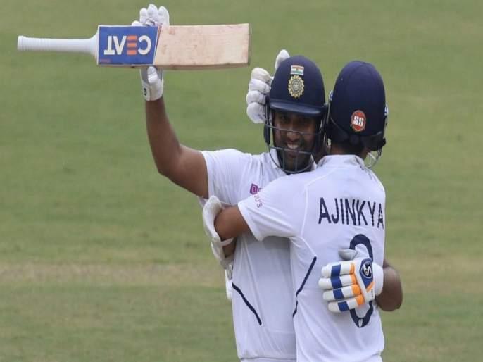 Sachin Tendulkar's applause on Rohit Sharma and Ajinkya Rahane's partnership | रोहित-अजिंक्यच्या पाठीवर सचिन तेंडुलकरची कौतुकाची थाप, म्हणाला...
