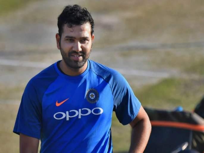 ICC World Cup 2019: Rohit Sharma accepts steady hand challenge, watch video ... | आयसीसी वर्ल्डकप 2019 : रोहित शर्माने स्वीकारले steady hand challenge, पाहा व्हिडीओ...