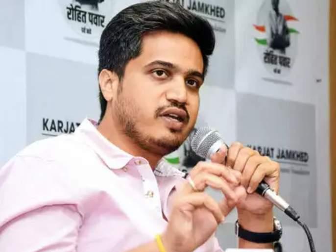 was he being empowered only for the sake of bjp fame asked rohit pawar | 'ते' चॅटिंग लोकशाहीला घातक; अर्णब गोस्वामी प्रकरणावरुन रोहित पवारांची भाजपवर टीका