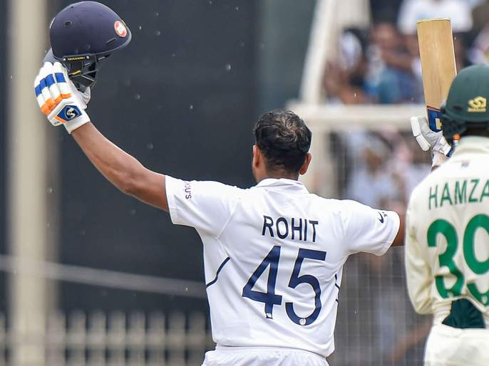India vs South Africa, 3rd Test : Rohit Sharma becomes only the second Indian opener after Sehwag to smash 500+ runs in a 3 match Test series | India vs South Africa, 3rd Test : रोहित शर्माच्या पाचशे धावा; वीरूनंतर अशी कामगिरी करणारा पहिलाच भारतीय