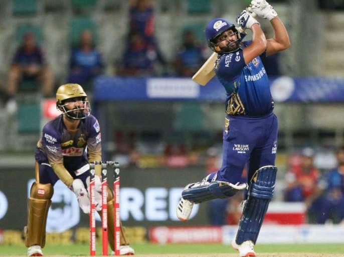 IPL 2020 Rohit Sharma leads in hitting winning sixes | IPL 2020: विजयी षटकारांत रोहित शर्माची आघाडी; मुंबईच्या कर्णधाराची लय भारी कामगिरी