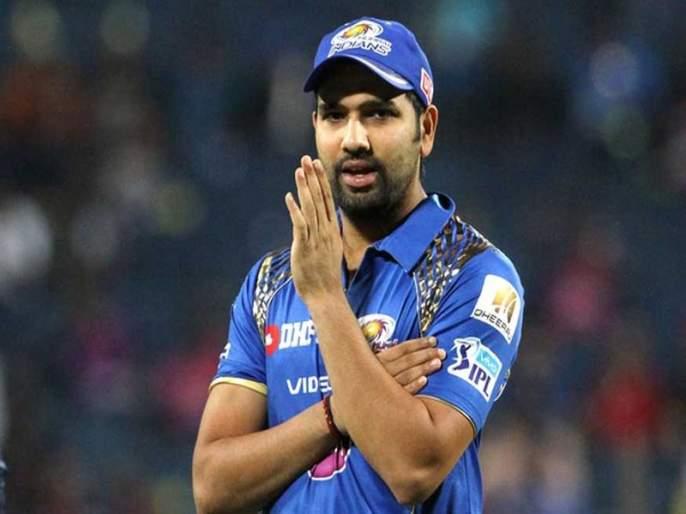 ... that he did in the field with 'Rohit Sharma' | ... अन् तो चक्क रोहित शर्माच्या पाया पडला