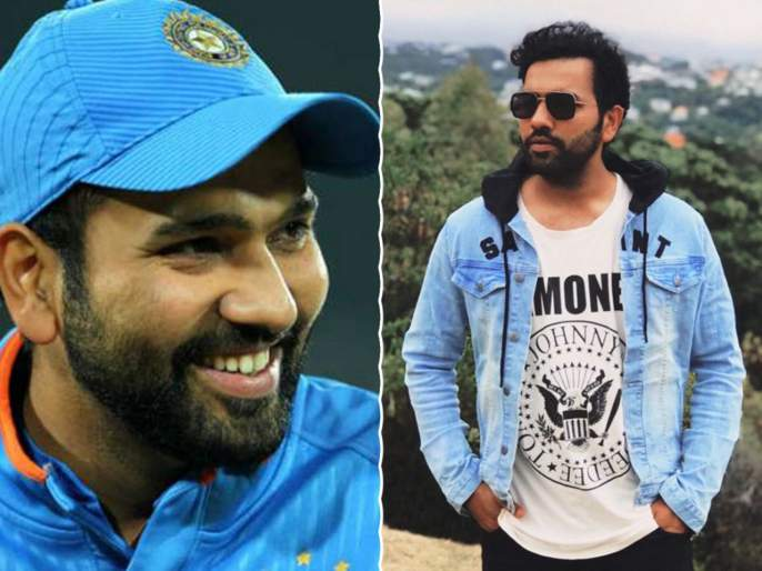 ICC World Cup 2019: Rohit Sharma finds unique way to spend time during travel - Watch | ICC World Cup 2019 : क्रिकेटर नव्हे तर अ‍ॅक्टर रोहित शर्मा, हिटमॅनचा हटके अंदाज Video