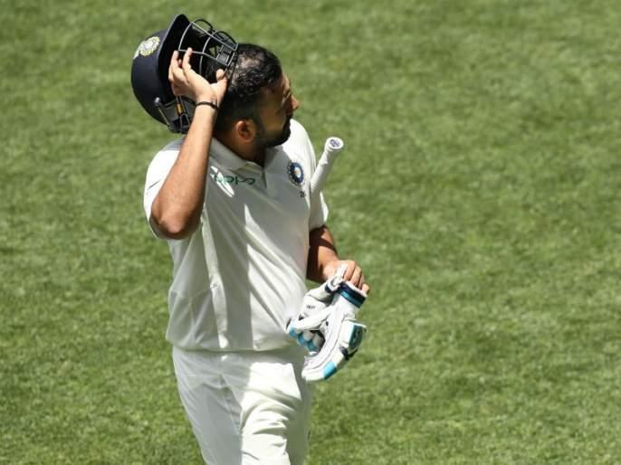 India vs Australia 1st Test: 'You play Test, not T20'; Rohit Sharma trolled by netizens | IND vs AUS 1st Test : 'तू टेस्ट खेळतोयस, टी-२० नाही'; चुकीच्या फटक्यावरून रोहितला नेटिझन्सचा 'फटका'