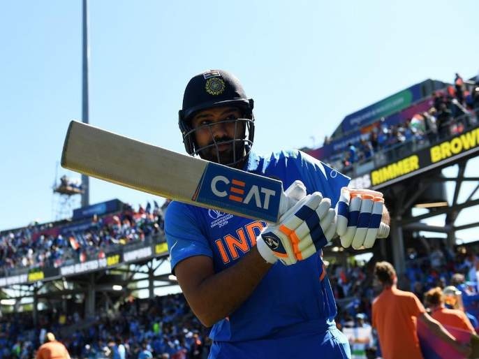 India vs West Indies, ICC World Cup 2019 : Rohit Sharma OUT or NOT OUT? Terrible decision by Third umpire | India vs West Indies : रोहित शर्मा OUT की NOT OUT? हिटमॅनला ढापले?