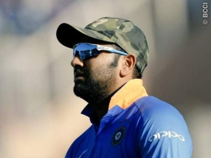 ICC World Cup 2019: Rohit Sharma's tweet to express dissatisfaction with umpire's decision in India vs West Indies match   ICC World Cup 2019 : रोहित शर्माचं पंचांच्या निर्णयावर नाराजी व्यक्त करणारं ट्विट, नेटिझन्सचा पाठिंबा