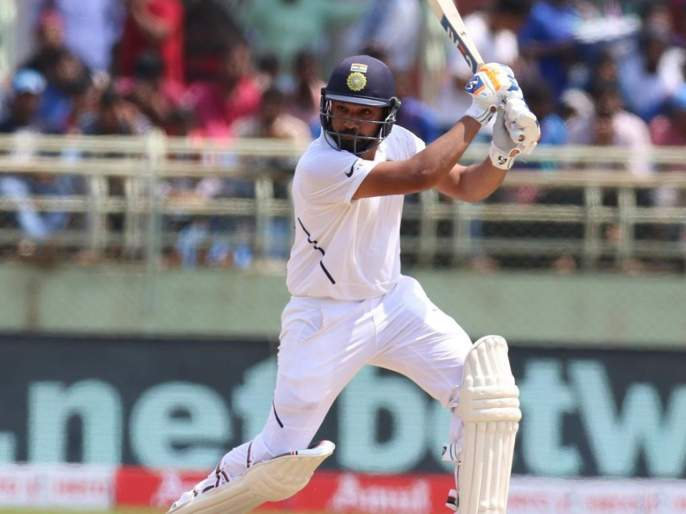 India vs South Africa, 1st Test : Rohit Sharma became a fourth Indian who scored century in the maiden test innings as an opener | India vs South Africa, 1st Test : रोहित ठरला 'हिट'; पहिल्याच सामन्यात शतक झळकावणारा चौथा ओपनर