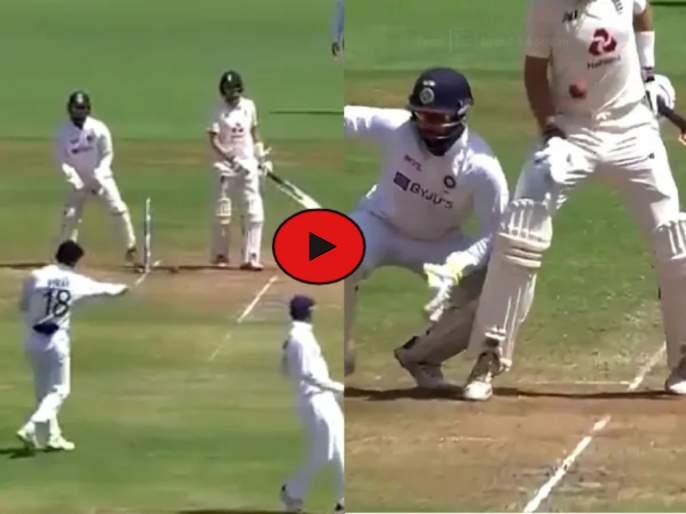 IND vs ENG, 4th Test : Virat, come on man, says hurt Joe Root as Indian skipper's throw hits him on his thigh, Video | IND vs ENG, 4th Test : कम ऑन विराट; भारतीय कर्णधारानं थ्रो केलेला चेंडू जो रूटला लागला अन्... Video
