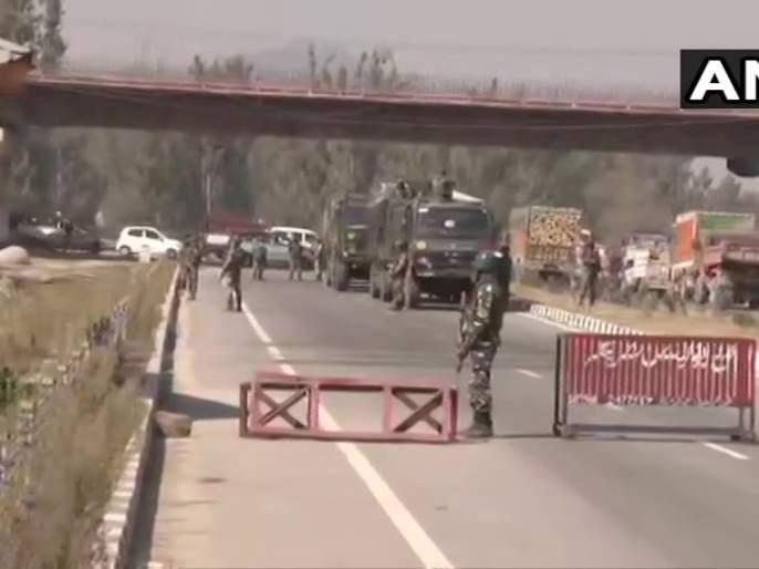 jammu kashmir pampore kandijhal bridge security forces terrorist attack | जम्मू-काश्मीरमध्ये दहशतवादी हल्ला, २ जवान शहीद तर ५ जण जखमी