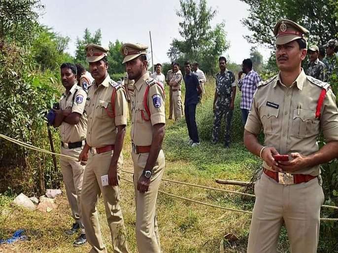 Hyderabad Encounter: 'Take me there and shoot', said the accused's wife of hyderabad rape case | Hyderabad Encounter: 'मलाही तिथंच नेऊन गोळी घाला', 20 वर्षीय आरोपीच्या पत्नीने टाहो फोडला