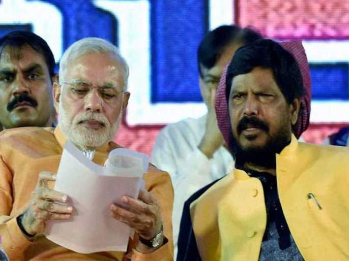 Prakash Ambedkar should come to BJP, appeal by ramdas athawale | Maharashtra Election 2019 : प्रकाश आंबेडकरांनीच भाजपात यावं, आठवलेंचं 'वंचित'ला आवाहन