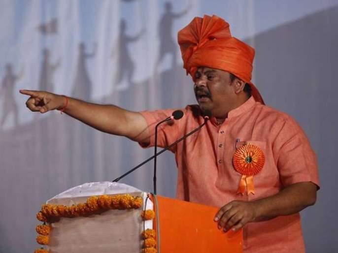 Baap Baap hota hain... MLA Rajasingh Critics on Akhilesh yadav | 'बाप बाप होता है'... आमदार राजासिंह यांची अखिलेश यादवांवर खरमरीत टीका