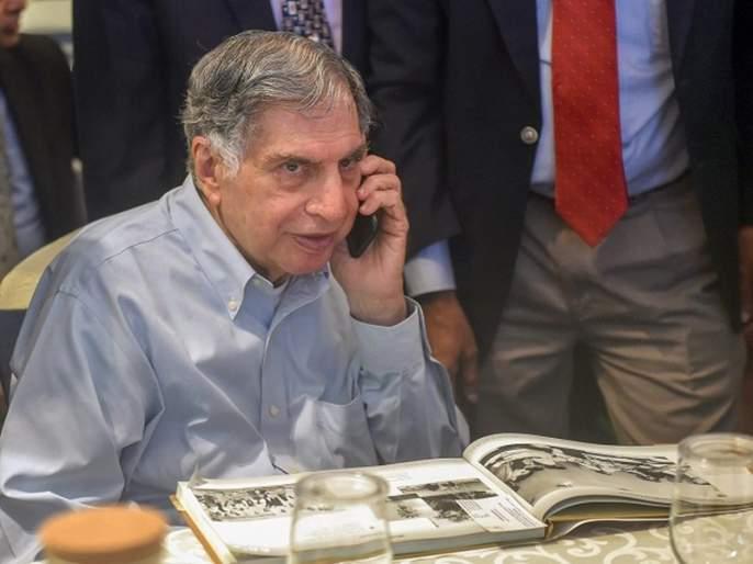 'I'm scared of it', Ratan Tata appeals to the countrymen by sharing photos on social media and fake news MMG | 'मला याची भीती वाटते', 'तो' फोटो शेअर करत रतन टाटांनी व्यक्त केली नाराजी