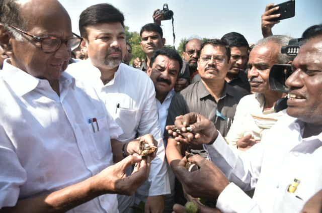 Farmers are in trouble, establish government soon | शेतकरी अडचणीत आहे, सरकार लवकर स्थापन करा