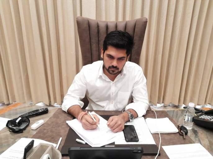 Although he recovered from corona, he needs rest: Rituraj Patil: I will be working with new vigor soon | कोरोनातून बरे झाला, तरी विश्रांती गरजेची : ऋतुराज पाटील : लवकरच नव्या जोमाने कार्यरत होईन