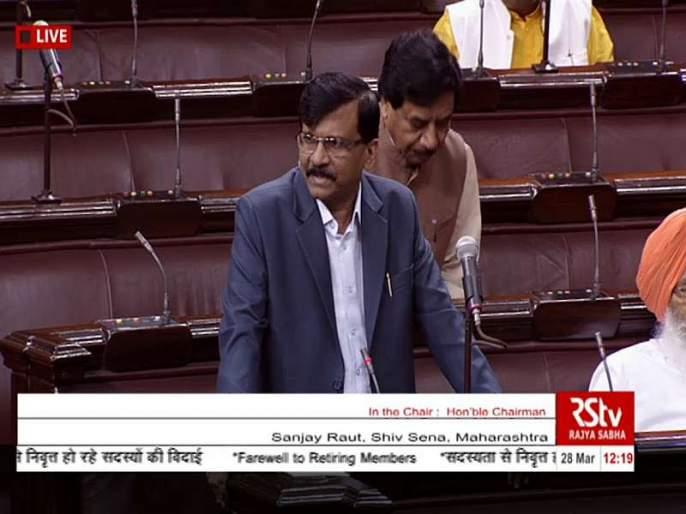 Sanjay Raut questioned with respect to EVM, Law Minister gave answer | राज्यसभेत ईव्हीएम संदर्भात संजय राऊतांचा प्रश्न, कायदामंत्र्यांनी दिलं उत्तर