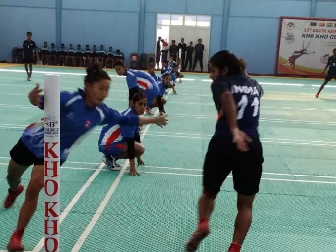 Both teams team of India in the semifinals of the South Asian Open kho-kho   दक्षिण आशियाई खो-खो स्पर्धेतभारताचे दोन्ही संघ उपांत्य फेरीत