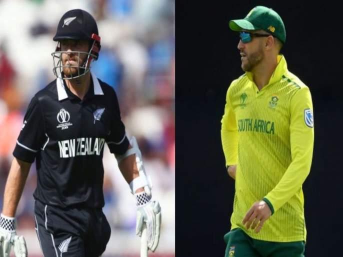 ICC World Cup 2019: The Africa ready to fight against Kiwi | ICC World Cup 2019: द. आफ्रिका किवींविरुद्धभिडण्यास सज्ज
