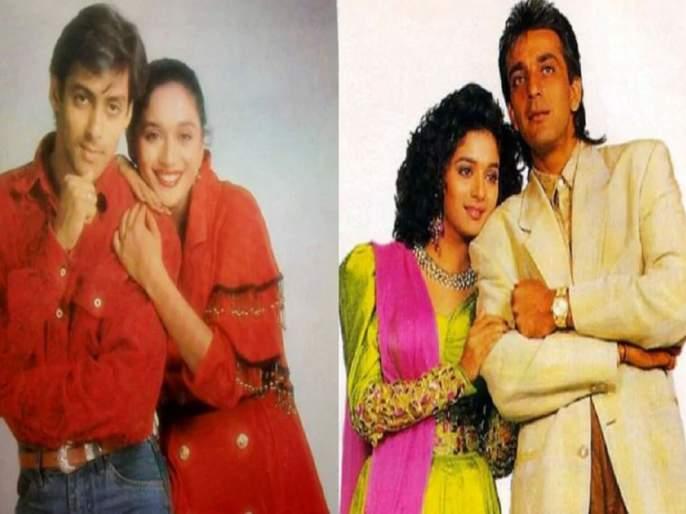 madhuri dixit reveals why did she sign film saajan with sanjay dutt and salman khan | का साईन केला 'साजन'? माधुरी दीक्षितने 29 वर्षांनंतर सांगितले कारण