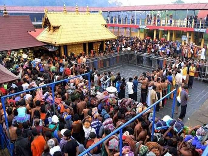 Sabarimala temple opens for devotees; 10 women sent back from Pamba after Kerala govt refuses to provide police protection | शबरीमला मंदिराजे दरवाजे उघडले, 10 महिलांना पोलिसांनी प्रवेशापासून रोखले