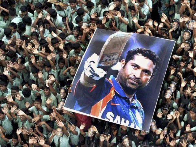 India vs Australia: Sachin ... Sachin's slogan on Wankhede, video becomes viral | India vs Australia : वानखेडेवर घुमला सचिन... सचिन...चा नारा, व्हिडीओ झाला वायरल