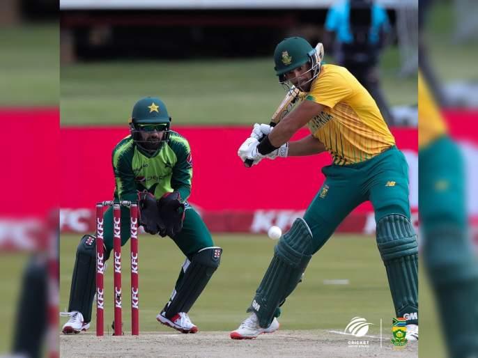 SA vs PAK, 3rd T20I : South Africa is the first team in 7 years to score 200+ against Pakistan in T20Is; SA 5/203 | SA vs PAK : ७ वर्षांत पाकिस्तानला असं कुणी धुतलंच नाही, दक्षिण आफ्रिकेच्या फलंदाजांची चौकार षटकारांची आतषबाजी