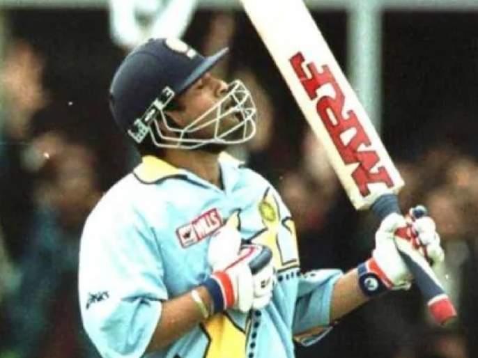 OnThisDay in the 1999, Sachin Tendulkar scored a magnificent 140 in the world cup match against Kenya svg | Emotional : चार दिवसांपूर्वी झालेलं वडिलांचं निधन, तरीही मैदानावर उतरून सचिननं ठोकलं शतक!
