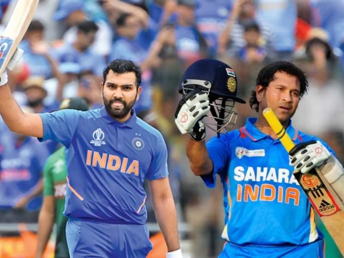 ICC World Cup 2019: Rohit Sharma failed to break Sachin Tendulkar's world record | ICC World Cup 2019 : अन् सचिन तेंडुलकरचा विश्वविक्रम मोडण्यात रोहित शर्माला अपयश