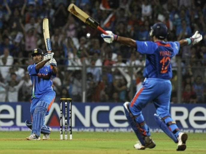Master stroke; Sachin Tendulkar's decision to change the 'he' game in the 2011 World Cup Final svg | मास्टर स्ट्रोक; 2011च्या वर्ल्ड कप फायनलमधील 'तो' गेम चेंजर निर्णय सचिन तेंडुलकरचा होता!