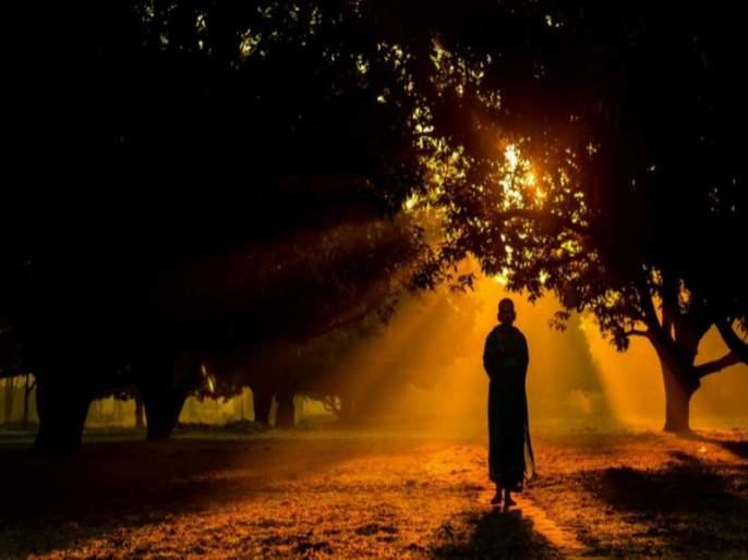Mana shanti - Life is truly happy when peace is restored ... | मनःशांती- शांती व क्रांतीचा मध्य साधता आला तरच जीवन खऱ्या अर्थाने सुखी...