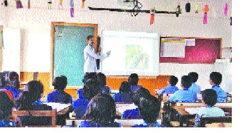 Karhad: Vidyenagar's Unidine School-Sagam School Program | कऱ्हाड : विद्यानगरला बिनदप्तराची शाळा-सगाम शाळेचा उपक्रम