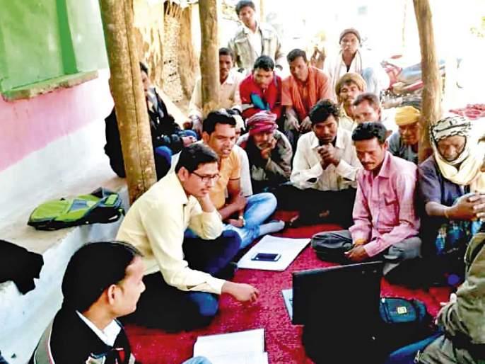 when An engineer goes to the tribal village.. | इंजिनिअर झाला आणि थेट आदिवासी भागात काम करायला गेला.