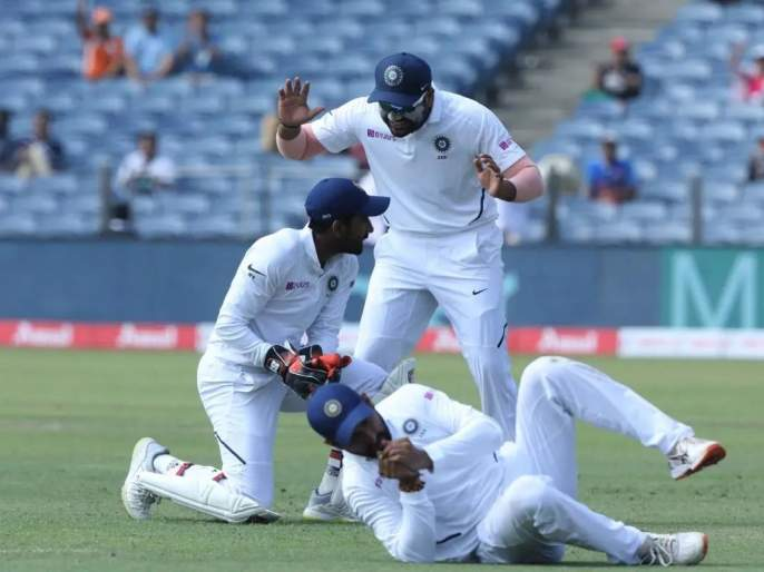 India vs South Africa, 3rd Test: before victory India get blow in 3rd day of the test match | India vs South Africa, 3rd Test : विजयापूर्वीच भारताला तिसऱ्या दिवशी धक्का