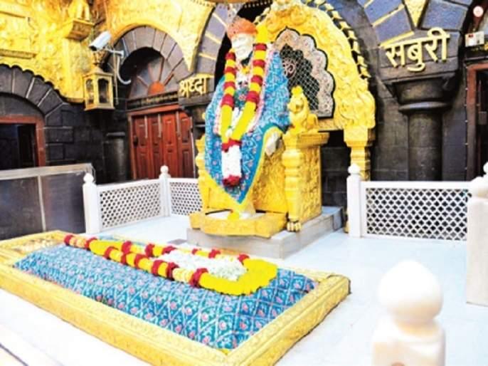 Consequences of Mini Lockdown: The number of devotees in Sainagari has skyrocketed | मिनी लॉकडाऊनचा परिणाम : साईनगरीत भाविकांची संख्या रोडावली