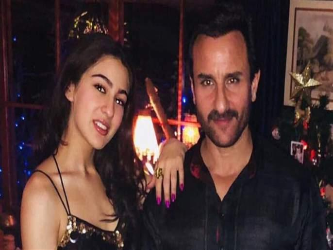 Sara Ali Khan reveals the last time Saif Ali Khan and Amrita Singh hung out together | सैफ अली खान आणि अमृता सिंग यांच्या शेवटच्या भेटीविषयी सांगतेय सारा अली खान