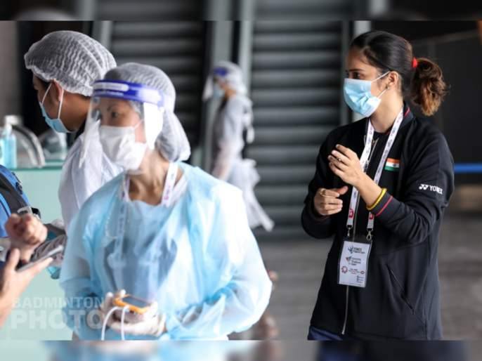 Saina Nehwal has tested positive for Covid-19 ahead of the Thailand Open 2021 that was to start today   सायना नेहवाल, एचएस प्रणॉय यांचा कोरोना रिपोर्ट पॉझिटिव्ह; १० दिवसांच्या आयसोलेशनमध्ये राहण्याचा सल्ला
