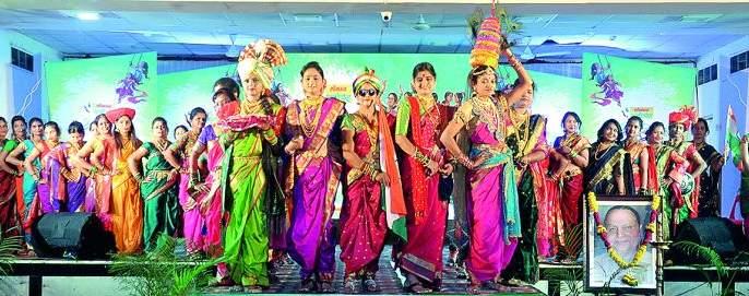 'Shravan Ceremony' of Sakhi Manch, a colorful forum | निसर्गरंगी रंगला सखी मंचचा 'श्रावण सोहळा'