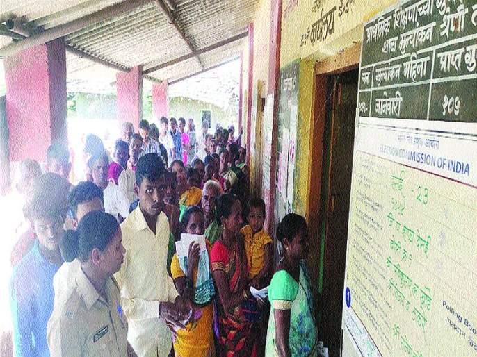 Maharashtra Election 2019: Voting in district increases but percentage will decline? | Maharashtra Election 2019: जिल्ह्यात मतदान वाढले पण टक्का घसरणार?