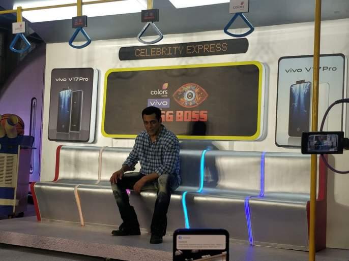 Bigg Boss 13 launch: Salman Khan takes Mumbai Metro to work, praises for metro | अक्षय, अमिताभ यांच्यानंतर सलमान खान पडला मेट्रोच्या प्रेमात, अशाप्रकारे केले मेट्रोचे कौतुक