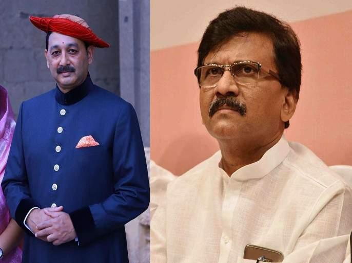 Sambhajiraje's angry on Shiv Sena Leader Sanjay Raut | उद्धवजी, राऊतांच्या जिभेला लगाम घाला; संभाजीराजांचा संतप्त पवित्रा तर राऊतांनी दिलं प्रत्युत्तर