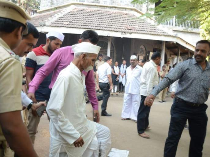 Sambhaji Bhide granted bail | वादग्रस्त विधान प्रकरणी संभाजी भिडे यांना जामीन मंजूर