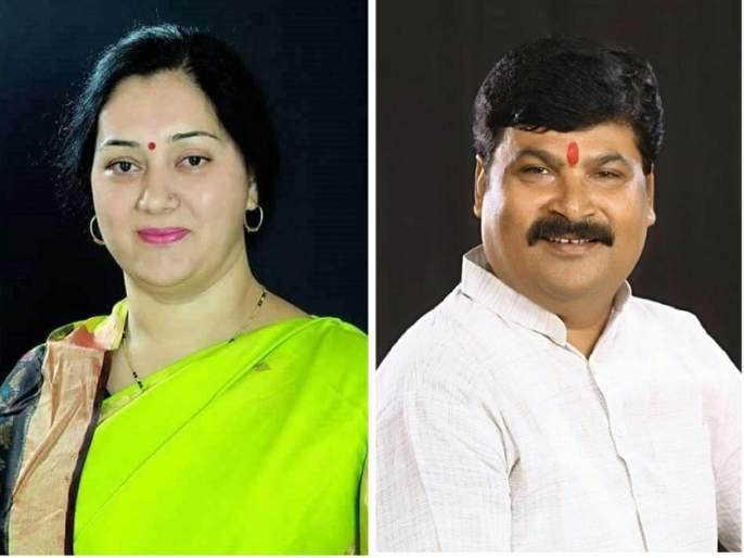 BJP MLA Sangeeta Thombre and husband Vijay Prakash Thombre file crimes against | भाजपा आमदार संगीता ठोंबरे व पती विजयप्रकाश ठोंबरे यांच्याविरोधात गुन्हे दाखल