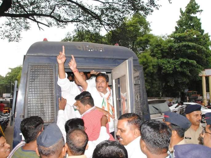 Congress will not bow down before BJP government's suppression: people will show their seats: Prithviraj Patil | भाजप सरकारच्या दडपशाहीपुढे काँग्रेस झुकणार नाही जनता त्यांना जागा दाखवून देईल : पृथ्वीराज पाटील