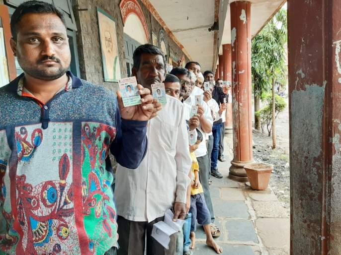In Sangli district, polling till 5 o'clock is 5.98 per cent | Maharashtra Election 2019 : सांगली जिल्ह्यात ११ वाजेपर्यंत १७.९७ टक्के मतदान